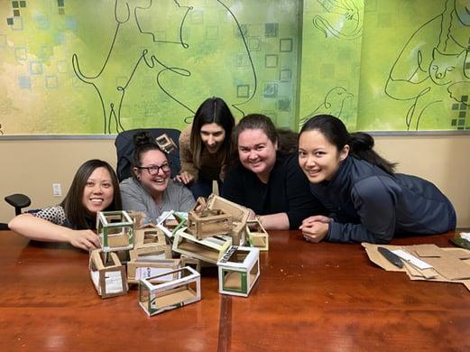 SF Team Giving Tuesday, create joy, volunteer, community
