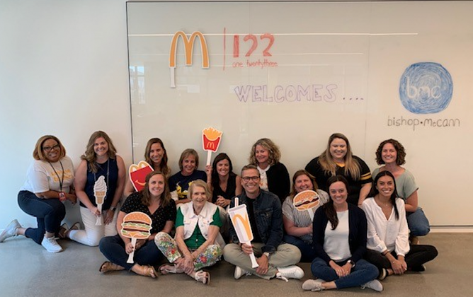 client, relationship, McDonald's, supplier summit, vendor