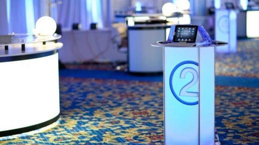 iPad, participants, interactive, event