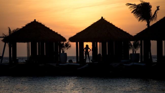 sunset aruba verizon incentive trip